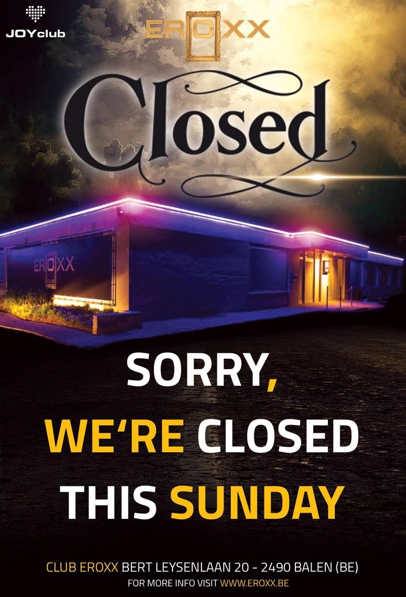 Vandaag gesloten wegens vakantie periode